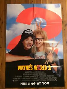 Original 1-Sheet Poster 27x41: Waynes World 2 (1993) Mike Myers, Dana Carvey