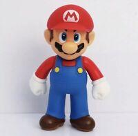 """Mario Figure Super Mario Bros Toy Action Figure 5"""" US Seller"""