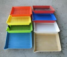 Lot of 8 Used 8 x 10 Darkroom Trays