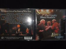 CD SAFFIRE THE UPPITY BLUES WOMEN / LIVE & UPPITY /