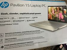 HP Pavilion 15 Laptop NEW silver Intel Core 15.Silver . WiFi 6 and Bluetooth