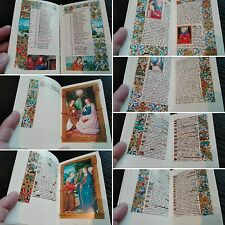 "Medieval 1495 Codex Facsimile ""HORAE MARIAE VIRGINIS"" Book of Hours Manuscript"