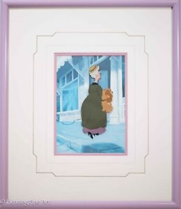 Walt Disney Hand Painted Production 1955 Animation Cel Lady and the Tramp, Rare!