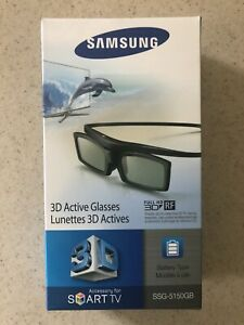 Samsung 3D Active Glasses SSG-5150GB - FULL HD 3D RF -NEW Sealed- Free Shipping!