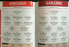 SIGNED 2005 GAA All-Ireland Hurling Final CORK v GALWAY Programme