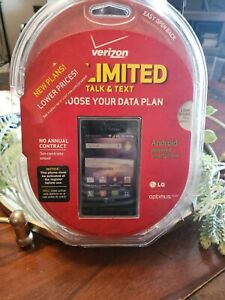BRAND NEW SEALED -LG Optimus Zone - LOCKED-Android Smartphone - Prepaid Verizon