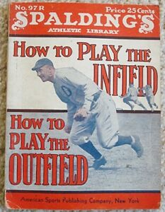 1936 SPALDING'S How To Play The Infield TY COBB Cover
