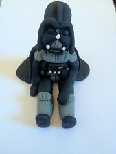 Edible In The Style Of Star Wars Darth Vader Cake Decoration Icing Topper