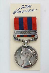 IGSM MILITARY ARMY INDIA GENERAL SERVICE MEDAL PERSIA BAR BRITISH FORCES