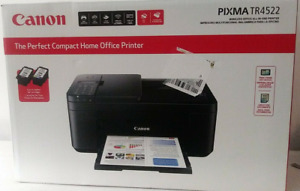 Canon PIXMA TR4522 All-In-One Wireless Inkjet Photo Printer Copier Scanner Fax