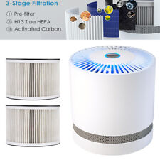 Large Room Air Purifier Office Air Cleaner Hepa Filter Remove Odor Dust/2 Filter