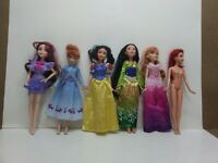 Lot of Disney Princess Dolls. Ariel, Anna, Mulan, Snow White, Descendants Mal