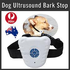 NEW ULTRASONIC DOG TRAINING COLLAR ANTI BARK STOP BARKING