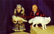 Mr & Mrs Henry Henkelmann of HENKELMANN'S MUSEUM & GIFT SHOP, WOODRUFF, WI