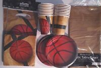 BASKETBALL Fanatic - Birthday Party Supply Pack Decoration Kit w/ Loot Bags