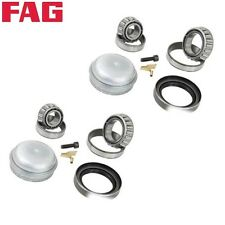 For: Mercedes R107 W124 W201 190E 260E 300CE Set of 2 Wheel Bearing Kits Ruville