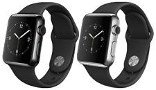 Apple Watch 1st generación 38mm 42mm GPS-Acero Inoxidable O Smartwatch Negro espacial