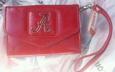 ALABAMA CRIMSON TIDE WOMENS TRI FOLD WALLET SABAN BEAR BRYANT HURTS TUA