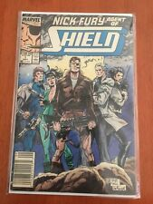 NICK FURY AGENT OF SHIELD - MARVEL COMICS 1989 - SEPT 1 - VERY GOOD CONDITION