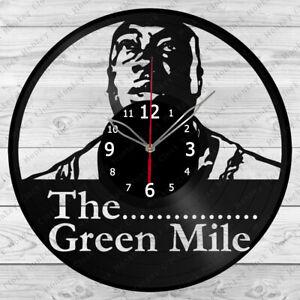 Vinyl Clock The Green Mile Vinyl Record Wall Clock Home Art Decor Handmade 4934