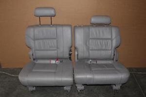 2001-2007 TOYOTA SEQUOIA REAR  3RD ROW LEFT &RIGHT SEATS GREY
