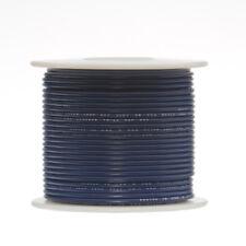 "14 AWG Gauge GPT Marine Wire Stranded Hook Up Wire Blue 100 ft 0.071"" 60 Volts"