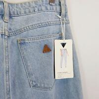 A BRAND | Womens A 94 High Slim MOM Jeans w/cutout NEW  [ Size AU 12 or US 30 ]