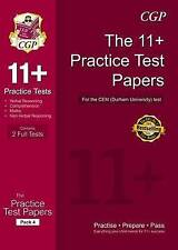 11+ Practice Tests for the CEM Test - Pack 4 by CGP Books (Paperback, 2016)