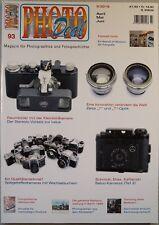 PHOTO DEAL Photodeal Heft 93 2/2016, Leica, Belco, Zeiss T*, Edixa, Polaroid