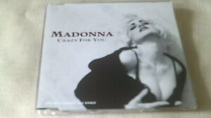 MADONNA - CRAZY FOR YOU - 3 TRACK CD SINGLE