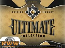 BOSTON BRUINS 2019-20 UD Ultimate Collection Hockey 8-Box Case Break #3