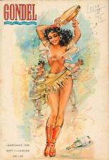 GONDEL - Zeitschrift Magazin - Heft 1 von 1950 - Models Musik Stories - B16790