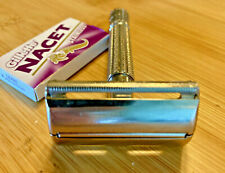 Vintage 1958 D1 GILLETTE  Super Speed TV Special TTO double edge DE safety razor