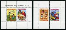 Surinam 2007 Weihnachten Christmas Kind Kerst 2162-2163 Block 104 Postfrisch MNH
