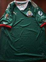 Puma Chivas Green Pro Jersey Authentic Chivas Jersey Verde Profesional Promo
