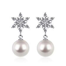 f536547a9167 Collares y colgantes de joyería con perlas colgante de plata de ley ...