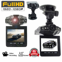 "6 LED 2.5"" Full HD1080P Car DVR Vehicle Camera Video Recorder Dash Cam 270° NEW!"