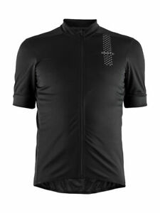 Craft Mens Rise Cycling Jersey - Black