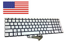 New listing New Hp 15-dy1971cl 15-dy1095od 15-Dy1000 Laptop Series backlit keyboard Silver