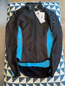 Assos Umajack Ladies Winter Cycling Jacket Size Large Blue