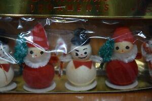 """Decorazioni di Natale """"Personaggi Natalizi"""" Addobbo di Natale Vintage Originale"""
