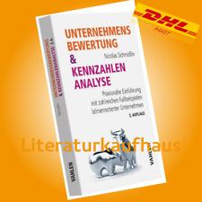 Unternehmensbewertung & Kennzahlenanalyse ++ Nicolas Schmidlin PORTOFREI & NEU