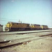 Union Pacific UP EMD SD60M Locomotive #2517 - Original Color Railroad Negative