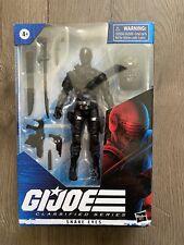GI Joe classified Snake Eyes Original Wave One  NIB Sealed 6?
