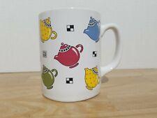Mary Engelbreit 1993 Oz Me Ink Teapots Coffee Mug
