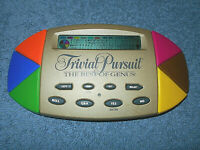 1997 TRIVIAL PURSUIT THE BEST OF GENUS HANDHELD ELECTRONIC GAME BY HASBRO - NICE