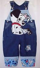 Custom boutique little boys Disney 101 Dalmatians overalls all sizes available