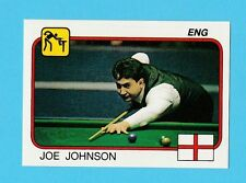 SNOOKER - PANINI - SUPERSPORT STICKER NO. 94  -  JOE  JOHNSON  -  1987
