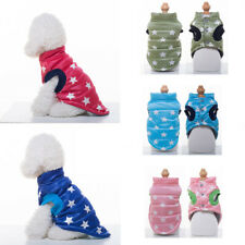 Pet Dog Puppy Warm Jacket Clothes Poodle Small Medium Dog Winter Coat Apparel