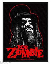"ROB ZOMBIE PORTRAIT EMBROIDERED PATCH 7cm x 10cm (2 3/4"" X 4"")"
